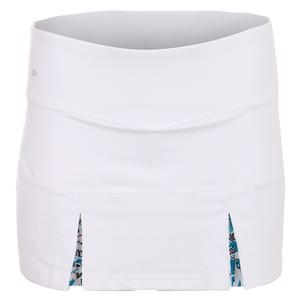 Women`s Island Breeze 13 Inch Tennis Skort White