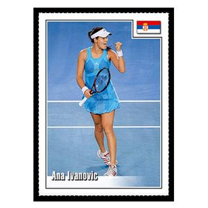 SPOTLIGHT TRIBUTE ANA IVANOVIC CARD
