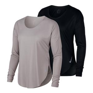 Women`s City Sleek Long Sleeve Running Top
