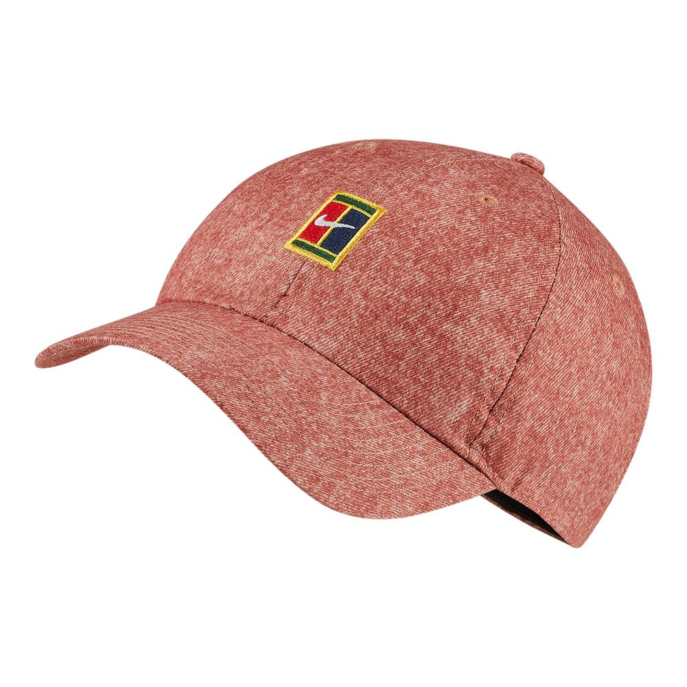 3c0b53c3ae8 ... Court Washed AeroBill Heritage 86 Tennis Cap 252 DUSTY PEACH ...