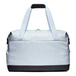 Court Advantage Tennis Duffel Bag Half Blue and Oil Grey