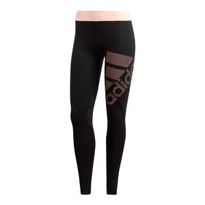 Women`s Alphaskin Long Tight Black and Clear Orange