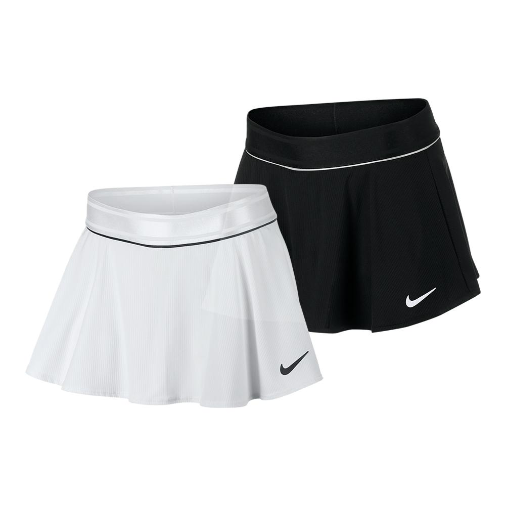 Girls ` Court Dry Flouncy Tennis Skort