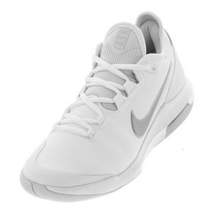 Women`s Air Max Wildcard Tennis Shoes White and Metallic Silver
