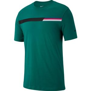 Men`s Court Graphic Tennis Tee