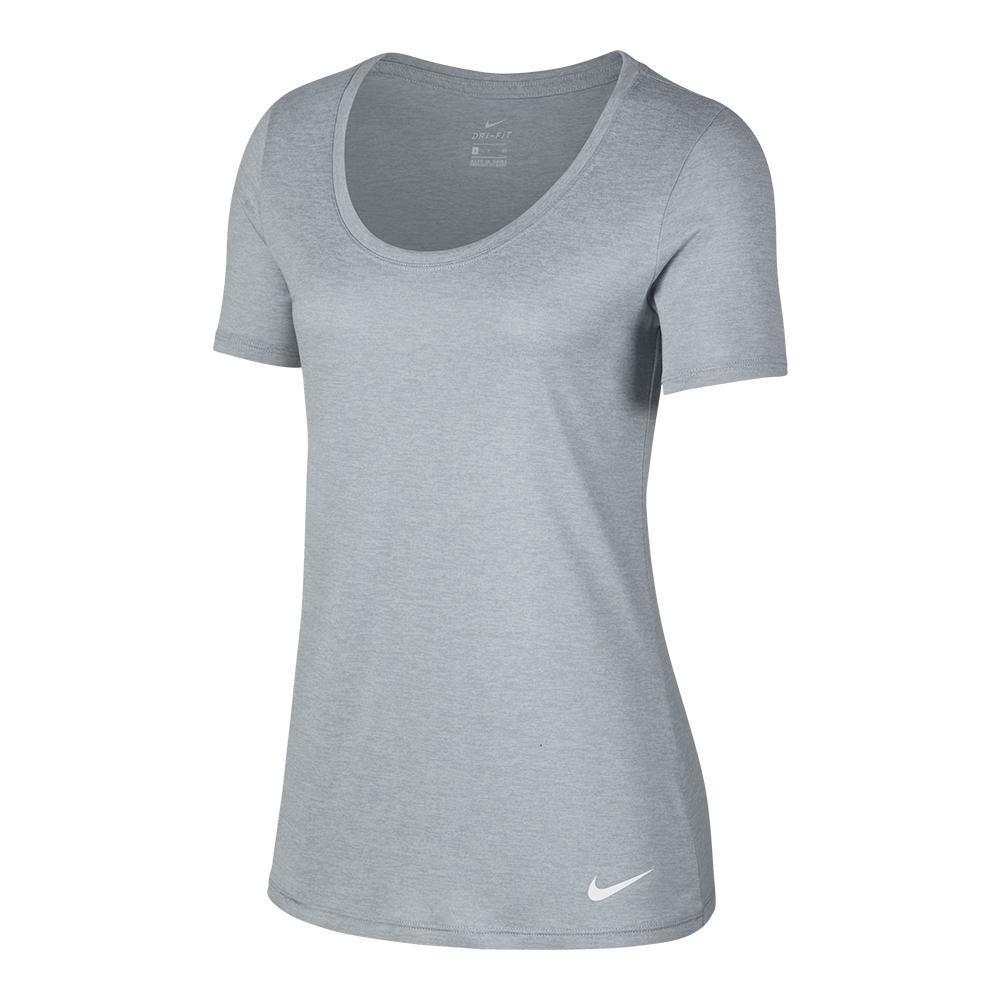Women's Dry Legend Scoop Cross- Dye Training T- Shirt