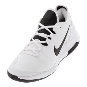 Juniors` Air Max Wildcard Tennis Shoes White and Black