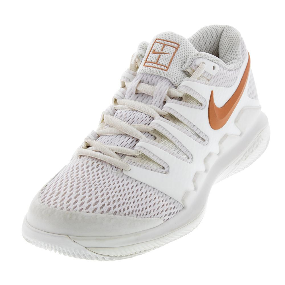 347e54116b581 Nike Women s Air Zoom Vapor X Clay Tennis Shoes Phantom and Metallic Rose  Gold
