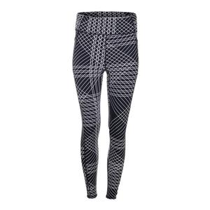 Women`s Ivory Tennis Legging Flow Print