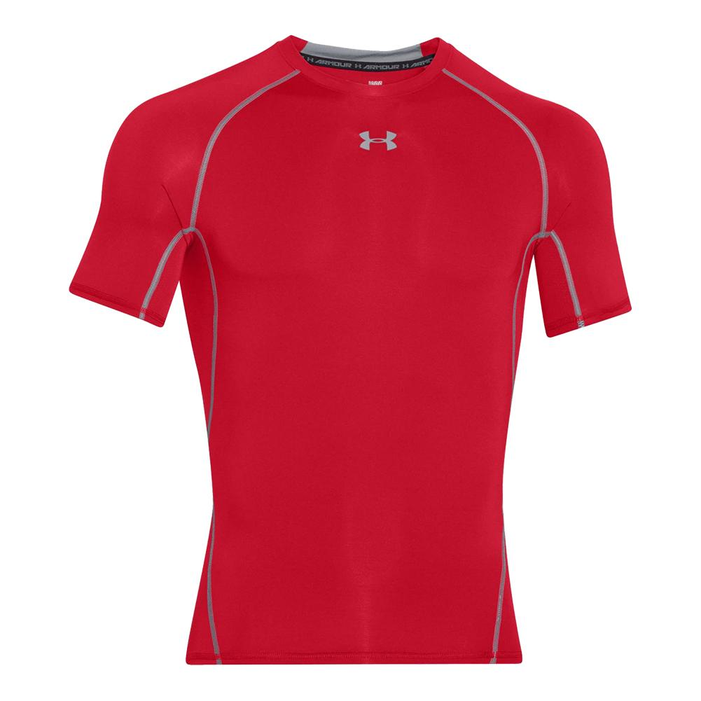 8af5c247 Under Armour Men`s UA HeatGear Armour Short Sleeve Compression Shirt