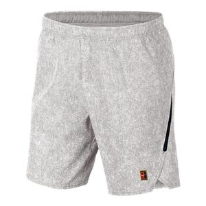 Men`s Court Flex Ace 9 Inch All Over Print Tennis Short