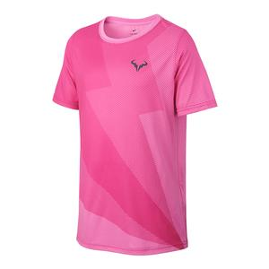 Boys` Rafa Court Graphic Tennis Top