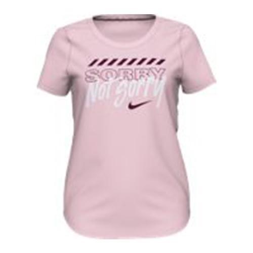 Girls'sportswear Not Sorry Graphic Tee Pink Foam