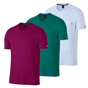 Men`s Court Heritage Short Sleeve Tennis Top