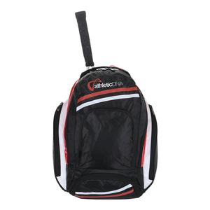 Tennis Backpack Black and Red