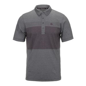 Men`s From A to B Tennis Polo Heather Black