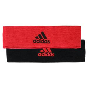 Interval Reversible Headband HI-Res Red and Black