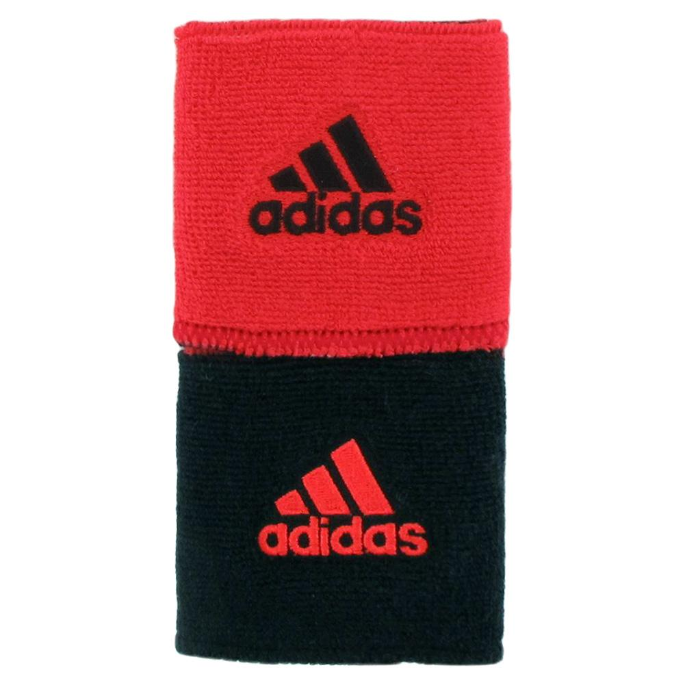 Interval Reversible Wristband Hi- Res Red And Black