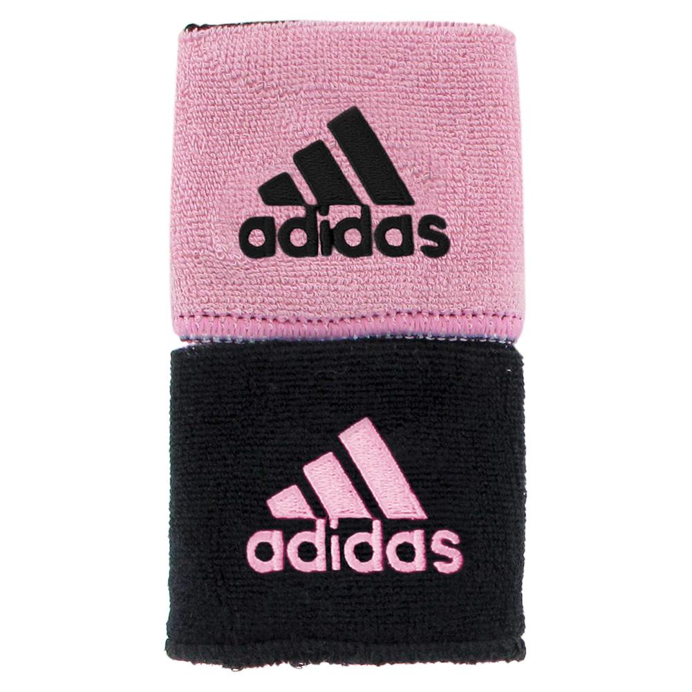 Interval Reversible Wristband Black And Gala Pink