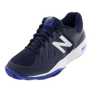 Men`s 1006v1 D Width Tennis Shoes Pigment and UV Blue