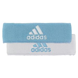 Interval Reversible Headband Argentina Blue and White