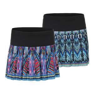 Women`s Long Pleated Tennis Skirt
