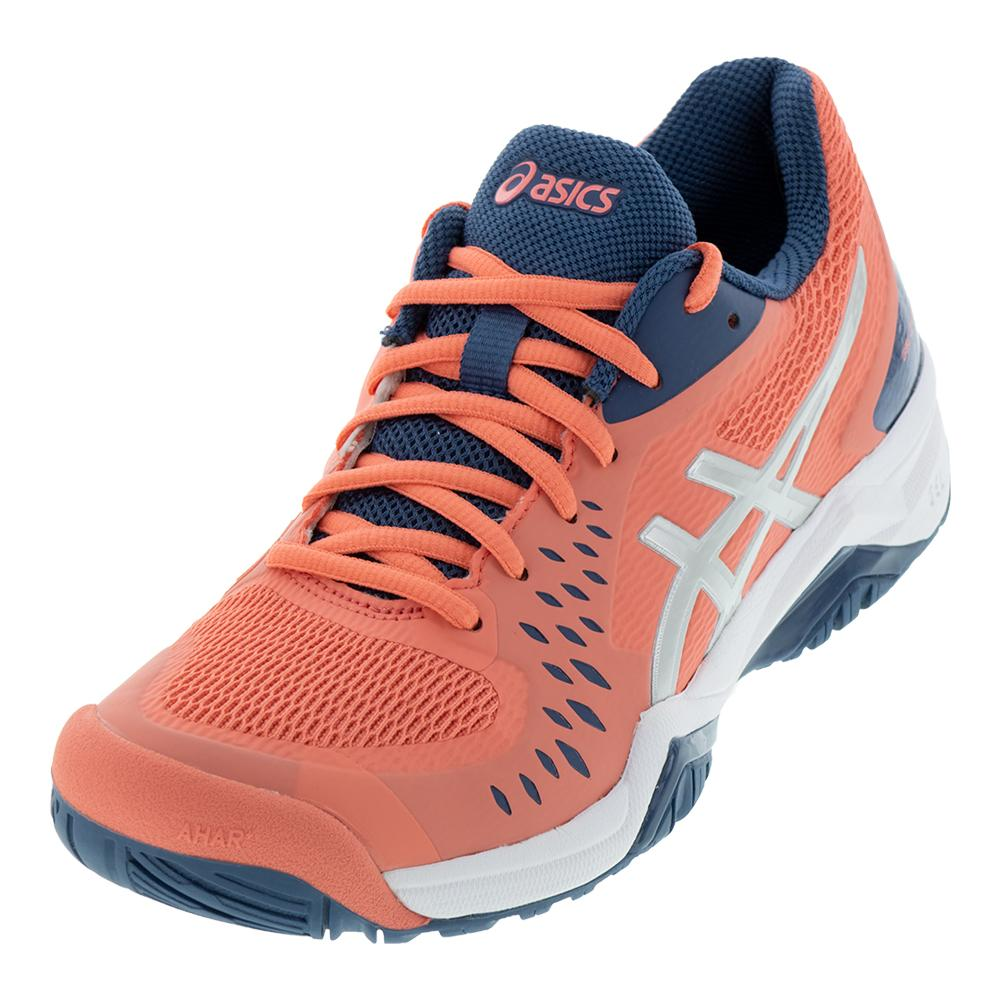 Women's Gel- Challenger 12 Tennis Shoes Papaya And Grand Shark