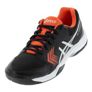 Men`s Gel-Dedicate 5 Tennis Shoes Black and Silver