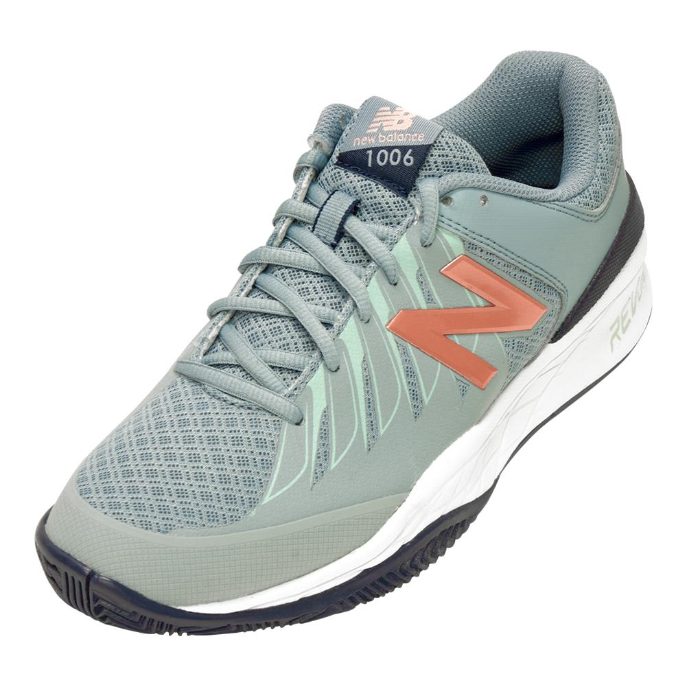 promo code 560a8 69ae6 Details about NEW BALANCE Women`s 1006v1 B Width Tennis Shoes Reflection  and Rose Gold
