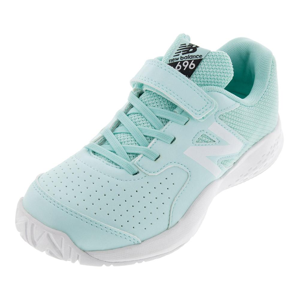 Juniors ` 696v3 Tennis Shoes Light Reef And Pigment