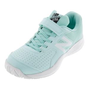 Juniors` 696v3 Tennis Shoes Light Reef and Pigment