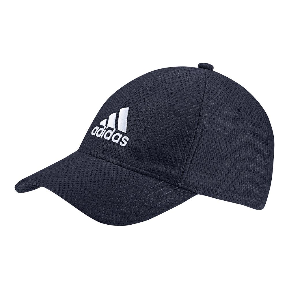 Adidas C40 Six Panel Climacool Tennis Cap Legend Ink and White 8282ce1b40e
