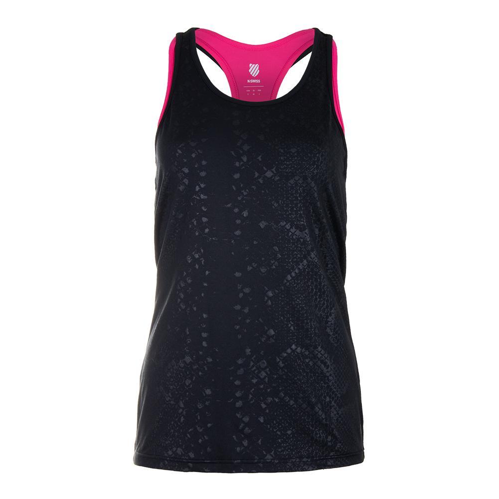 Women's Hypercourt Express Tennis Tank Black Beauty