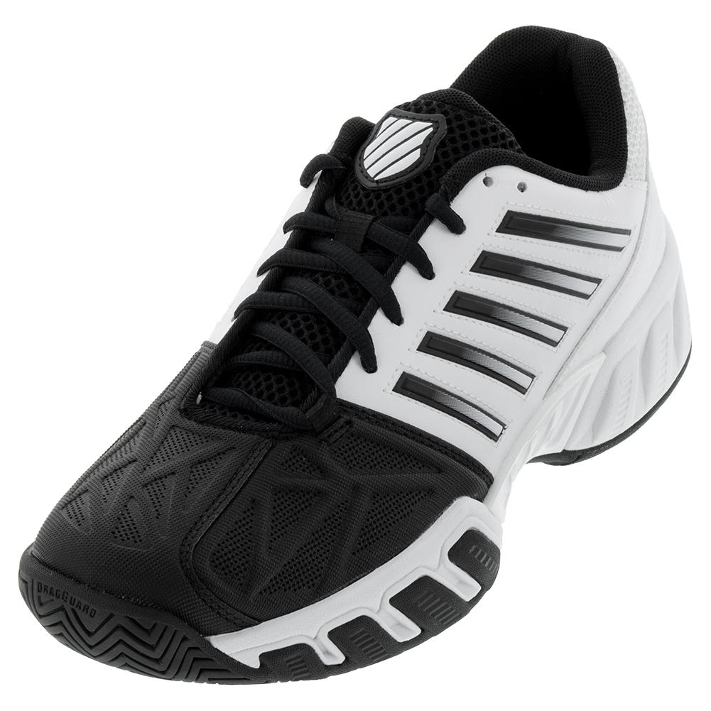 11a539df806c K- Swiss Men s Bigshot Light 3 Tennis Shoes White and Black