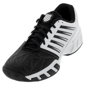Men`s Bigshot Light 3 Tennis Shoes White and Black