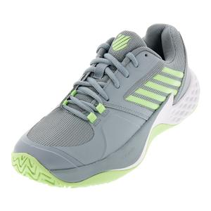 Women`s Aero Court Tennis Shoes Abyss and Paradise Green
