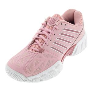 Women`s Bigshot Light 3 Tennis Shoes Coral Blush and White