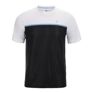 Men`s Set Point Colorblocked Tennis Crew