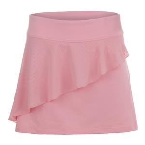 Women`s Ruffle 14.5 Inch Tennis Skort Light Pink