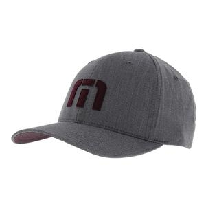 Men`s Letterman Tennis Cap Heather Grey