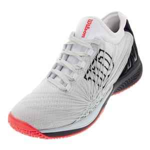 Men`s Kaos 2.0 SFT Tennis Shoes White and Ebony