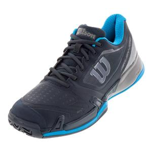 Men`s 2019 Rush Pro 2.5 Tennis Shoes Blueberry and Quiet Shade