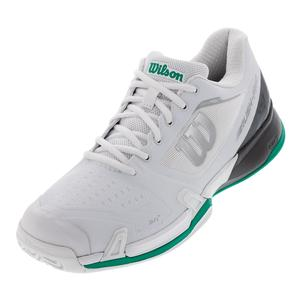 Men`s 2019 Rush Pro 2.5 Tennis Shoes White and Ebony