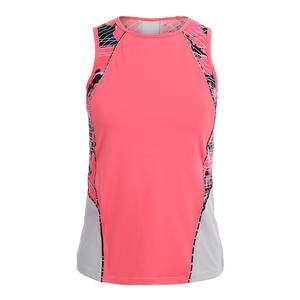 Women`s Kora Tennis Tank Dragon Fruit
