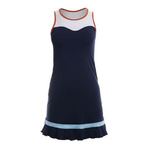 Women`s Anastasia Pavlyuchenkova Tennis Dress Navy Blue