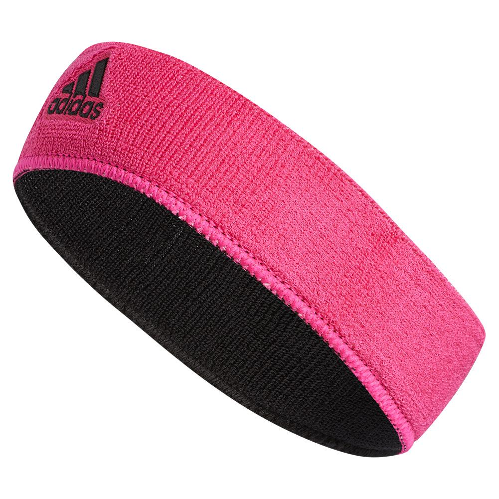 virtual Maquinilla de afeitar arquitecto  Adidas Interval Reversible Headband Shock Pink and Black