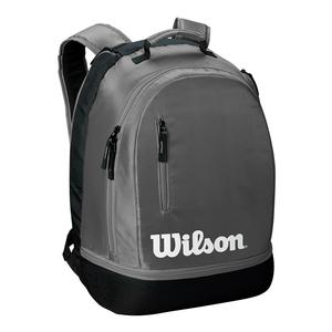 Team Tennis Backpack Gray and Black