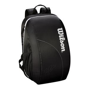 Team Fed Tennis Backpack Black and White