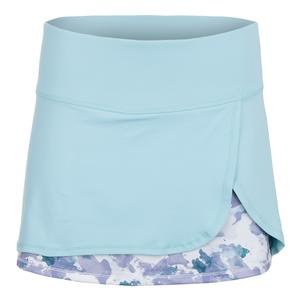 Women`s Fury 13 Inch Tennis Skort Aquatic