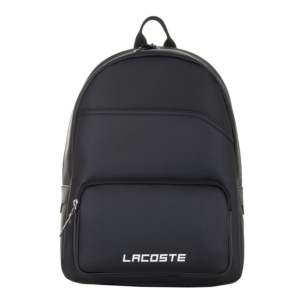 cc68b0b3b8b303 Lacoste Men`s Ultimum Tennis Backpack Black | Lacoste Bags | Tennis ...